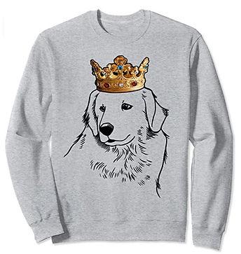 Great-Pyrenees-Crown-Portrait-Sweatshirt