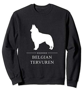 White-Stars-Sweatshirt-Belgian-Tervuren.