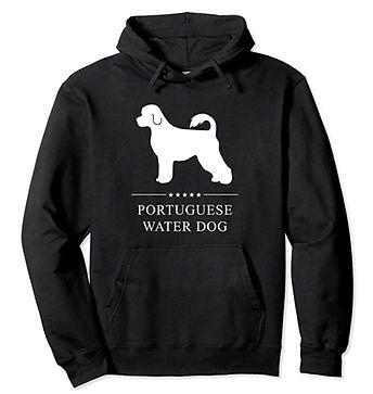 Portuguese-Water-Dog-White-Stars-Hoodie.