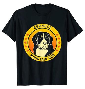 Bernese-Mountain-Dog-Portrait-Yellow-tsh