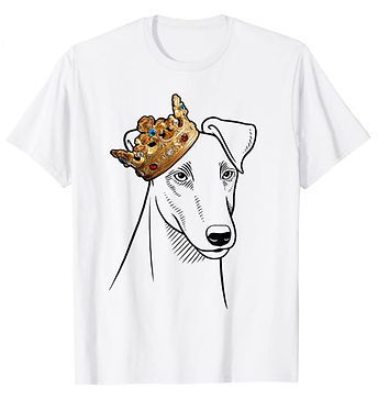 Smooth-Fox-Terrier-Crown-Portrait-tshirt
