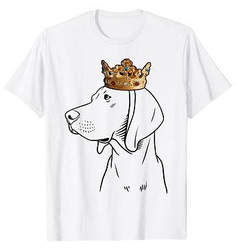 Redbone-Coonhound-Crown-Portrait-tshirt.