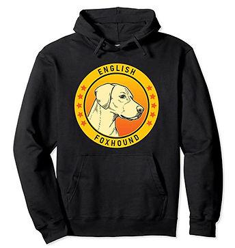 English-Foxhound-Portrait-Yellow-Hoodie.