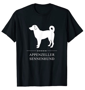 Appenzeller-Sennenhund-White-Stars-tshir