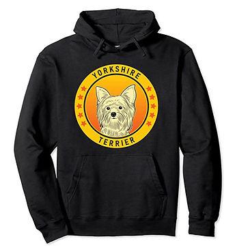 Yorkshire-Terrier-Portrait-Yellow-Hoodie