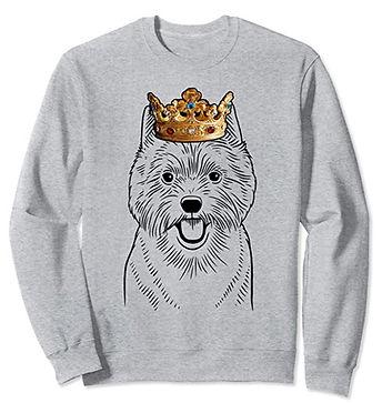 Norwich-Terrier-Crown-Portrait-Sweatshir