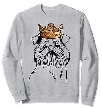 Brussels-Griffon-Crown-Portrait-Sweatshi