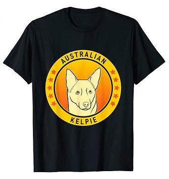 Australian-Kelpie-Portrait-Yellow-tshirt