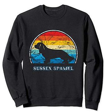 Vintage-Design-Sweatshirt-Sussex-Spaniel