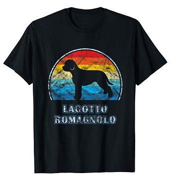 Vintage-Design-tshirt-Lagotto-Romagnolo.