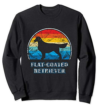 Vintage-Design-Sweatshirt-Flat-Coated-Re