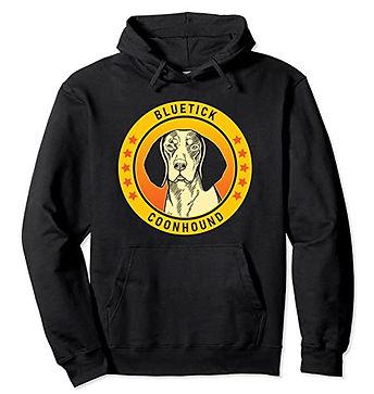 Bluetick-Coonhound-Portrait-Yellow-Hoodi