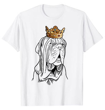 Neapolitan-Mastiff-Crown-Portrait-tshirt