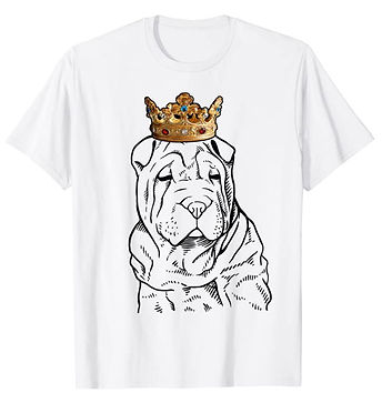 Chinese-Shar-Pei-Crown-Portrait-tshirt.j