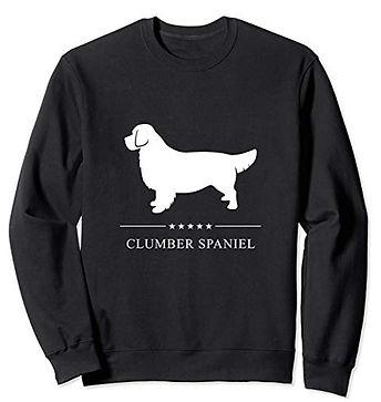 White-Stars-Sweatshirt-Clumber-Spaniel.j