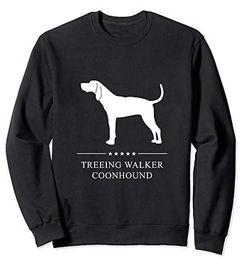 White-Stars-Sweatshirt-Treeing-Walker-Co