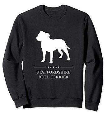 White-Stars-Sweatshirt-Staffordshire-Bul