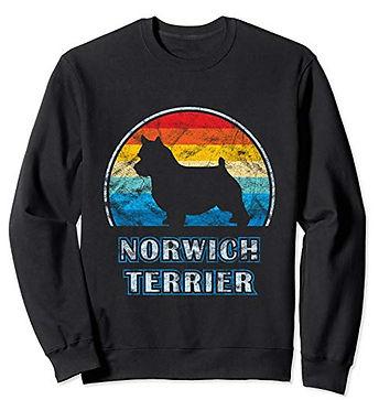 Vintage-Design-Sweatshirt-Norwich-Terrie