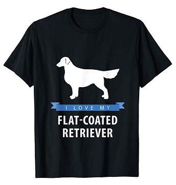 White-Love-tshirt-Flat-Coated-Retriever.