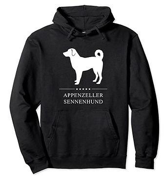 Appenzeller-Sennenhund-White-Stars-Hoodi