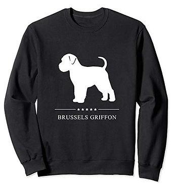 White-Stars-Sweatshirt-Brussels-Griffon.