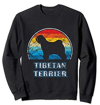 Vintage-Design-Sweatshirt-Tibetan-Terrie
