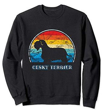 Vintage-Design-Sweatshirt-Cesky-Terrier.