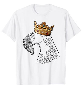 Kerry-Blue-Terrier-Crown-Portrait-tshirt