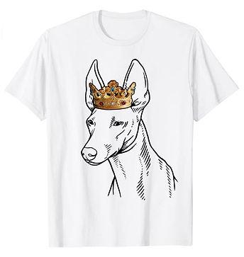 Cirneco-dellEtna-Crown-Portrait-tshirt.j