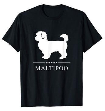Maltipoo-White-Stars-tshirt.jpg