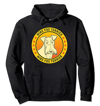Wire-Fox-Terrier-Portrait-Yellow-Hoodie.