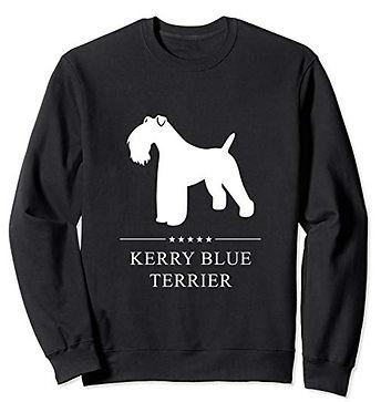 White-Stars-Sweatshirt-Kerry-Blue-Terrie