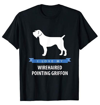 White-Love-tshirt-Wirehaired-Pointing-Gr