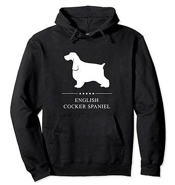 English-Cocker-Spaniel-White-Stars-Hoodi