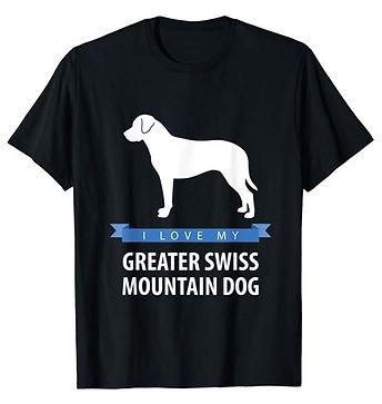 White-Love-tshirt-Greater-Swiss-Mountain