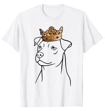 Patterdale-Terrier-Crown-Portrait-tshirt