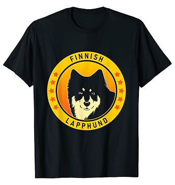 Finnish-Lapphund-Portrait-Yellow-tshirt.