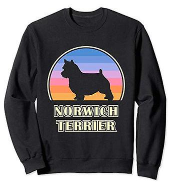 Vintage-Sunset-Sweatshirt-Norwich-Terrie