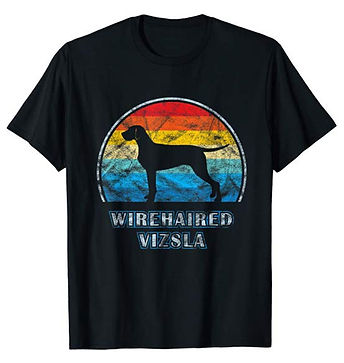 Vintage-Design-tshirt-Wirehaired-Vizsla.