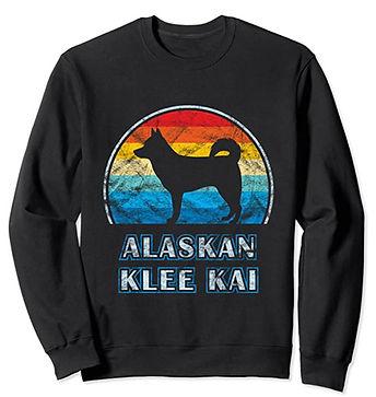 Alaskan-Klee-Kai-Vintage-Design-Sweatshi