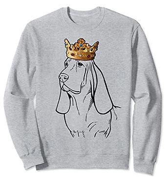 Basset-Hound-Crown-Portrait-Sweatshirt.j