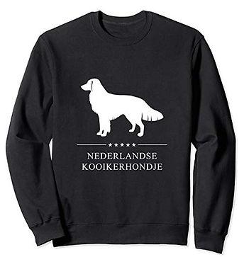 White-Stars-Sweatshirt-Nederlandse-Kooik