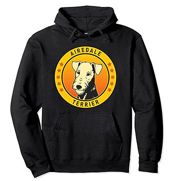 Airedale-Terrier-Portrait-Yellow-Hoodie.