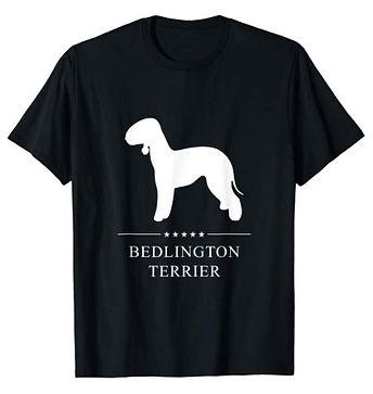Bedlington-Terrier-White-Stars-tshirt-bi