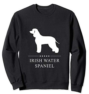 White-Stars-Sweatshirt-Irish-Water-Spani