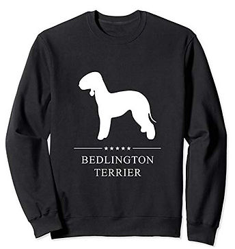 White-Stars-Sweatshirt-Bedlington-Terrie