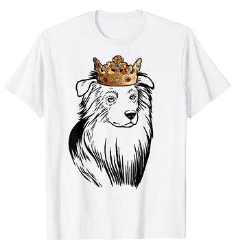 Australian-Shepherd-Crown-Portrait-tshir