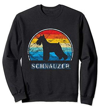 Vintage-Design-Sweatshirt-Schnauzer-dock
