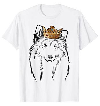 Shetland-Sheepdog-Crown-Portrait-tshirt.