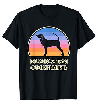 Vintage-Sunset-tshirt-Black-and-Tan-Coon